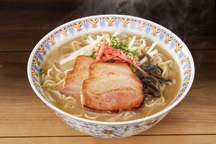 豚骨ラーメン Ramen Japanese Noodlesの写真素材 [FYI04662079]