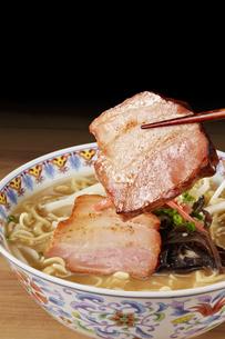 豚骨ラーメン Ramen Japanese Noodlesの写真素材 [FYI04662088]