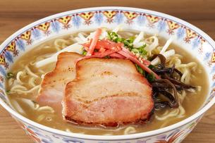 豚骨ラーメン Ramen Japanese Noodlesの写真素材 [FYI04662089]
