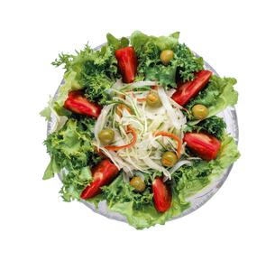 新鮮生野菜サラダの写真素材 [FYI04662099]