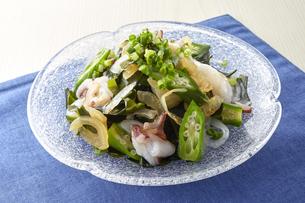 海藻サラダ (seaweed salad)の写真素材 [FYI04662115]
