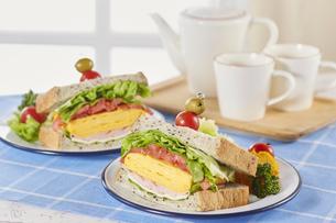 サンドウィッチ (sandwich)の写真素材 [FYI04662128]