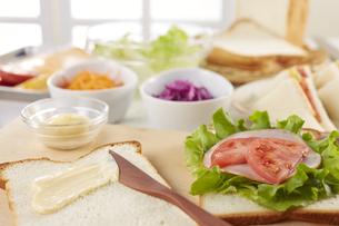 サンドウィッチ (sandwich)の写真素材 [FYI04662131]