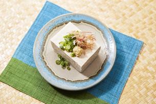 島豆腐-沖縄料理の写真素材 [FYI04662162]