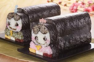 キャラ巻き寿司の写真素材 [FYI04662213]
