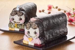 キャラ巻き寿司の写真素材 [FYI04662217]