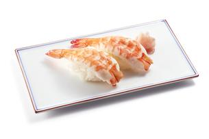 海老の握り寿司 (shrimp)の写真素材 [FYI04662253]