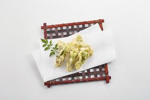 たらの芽(Fatsia sprouts)の天ぷらの写真素材 [FYI04662306]