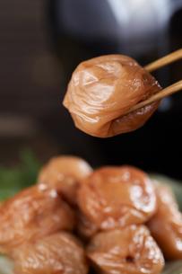 梅干し (pickled plums)の写真素材 [FYI04662368]