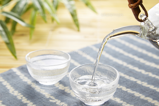 日本酒 冷酒の写真素材 [FYI04662484]