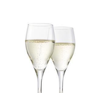 スパークリングワイン-白-白ワインの写真素材 [FYI04662540]