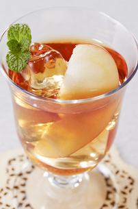 アイスアップルティー apple teaの写真素材 [FYI04662559]