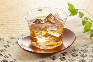 冷たいほうじ茶(加賀棒茶)の写真素材 [FYI04662584]