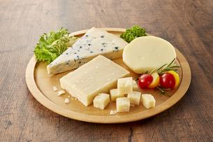チーズ集合の写真素材 [FYI04662675]