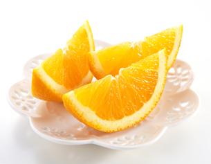 カットオレンジの写真素材 [FYI04662872]