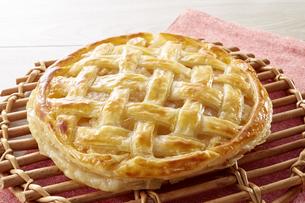 アップルパイ (homemade apple pie)の写真素材 [FYI04662982]