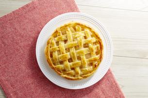 アップルパイ (homemade apple pie)の写真素材 [FYI04662988]