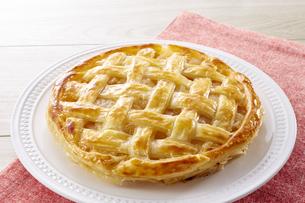 アップルパイ (homemade apple pie)の写真素材 [FYI04662999]