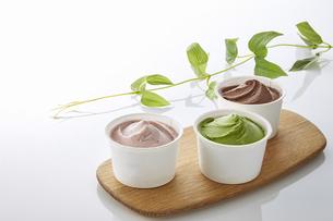 ice cream cupの写真素材 [FYI04663131]