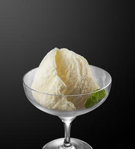 バニラアイス (vanilla ice cream)の写真素材 [FYI04663138]