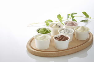 ice cream cupの写真素材 [FYI04663142]