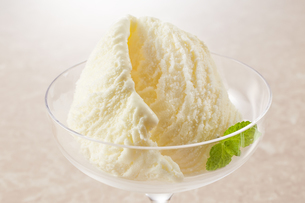 バニラアイス (vanilla ice cream)の写真素材 [FYI04663144]
