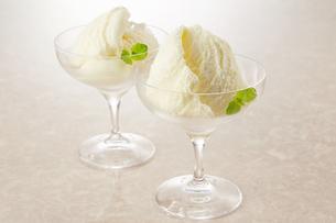 バニラアイス (vanilla ice cream)の写真素材 [FYI04663149]