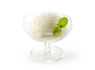 バニラアイス(vanilla ice cream)の写真素材 [FYI04663164]