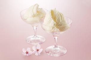 バニラアイス(vanilla ice cream)の写真素材 [FYI04663176]