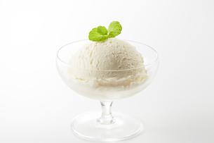 バニラアイス(vanilla ice cream)の写真素材 [FYI04663189]
