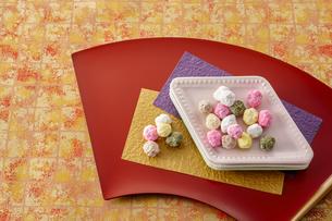 雛祭り 五色豆の写真素材 [FYI04663420]
