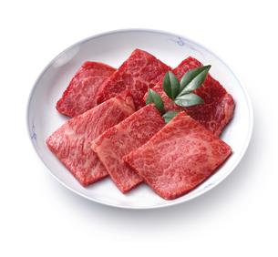 牛肉(生肉) 焼肉用の写真素材 [FYI04663522]
