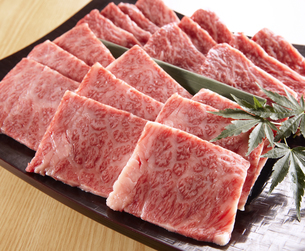 国産牛焼肉用の写真素材 [FYI04663553]