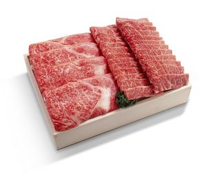黒毛和牛 すき焼き用・焼肉用の写真素材 [FYI04663588]