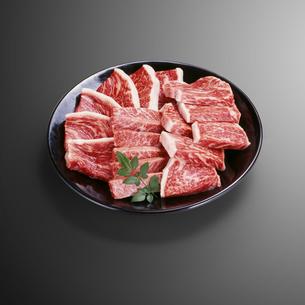 黒毛和牛焼肉用(ロース、モモ、バラ)の写真素材 [FYI04663599]