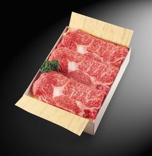 和牛すき焼き用の写真素材 [FYI04663606]