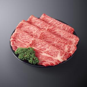 和牛すき焼き用の写真素材 [FYI04663627]