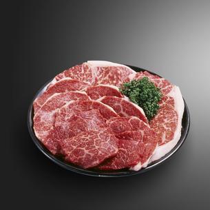黒毛和牛焼肉用の写真素材 [FYI04663642]