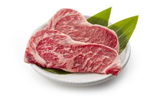 国産牛ロースステーキ用の写真素材 [FYI04663695]