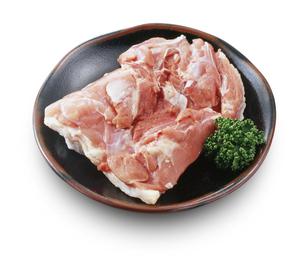 鶏モモ肉の写真素材 [FYI04663711]