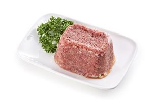 コンビーフ corned beef(バック飛ばし、影イキ)の写真素材 [FYI04663759]