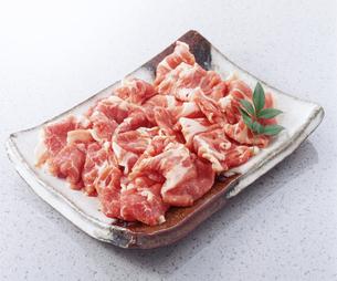 豚肉薄切りの写真素材 [FYI04663845]