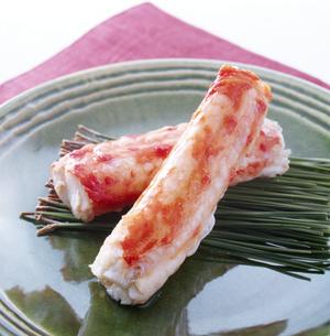 タラバガニの脚肉(Red king crab's legs)の写真素材 [FYI04664038]