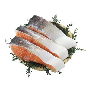 鮭切身の写真素材 [FYI04664271]