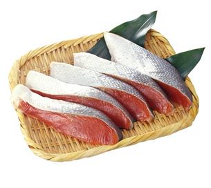 鮭切身の写真素材 [FYI04664280]