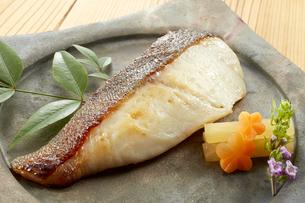 焼き魚 鰆(さわら)の写真素材 [FYI04664323]