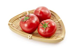 フルーツトマト (影イキ、背景白飛ばし)の写真素材 [FYI04664960]