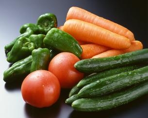 野菜集合(トマトの写真素材 [FYI04664980]