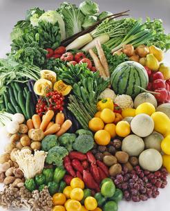 野菜とフルーツ大集合の写真素材 [FYI04665007]