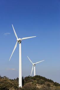 久居榊原風力発電施設(青山高原ウインドファーム)の写真素材 [FYI04665090]